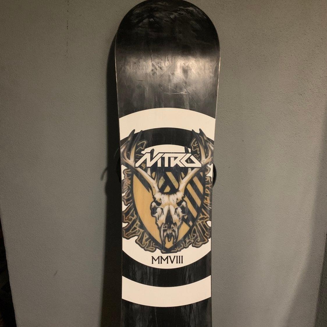 Snowboard Nitro Snowboarding Deck