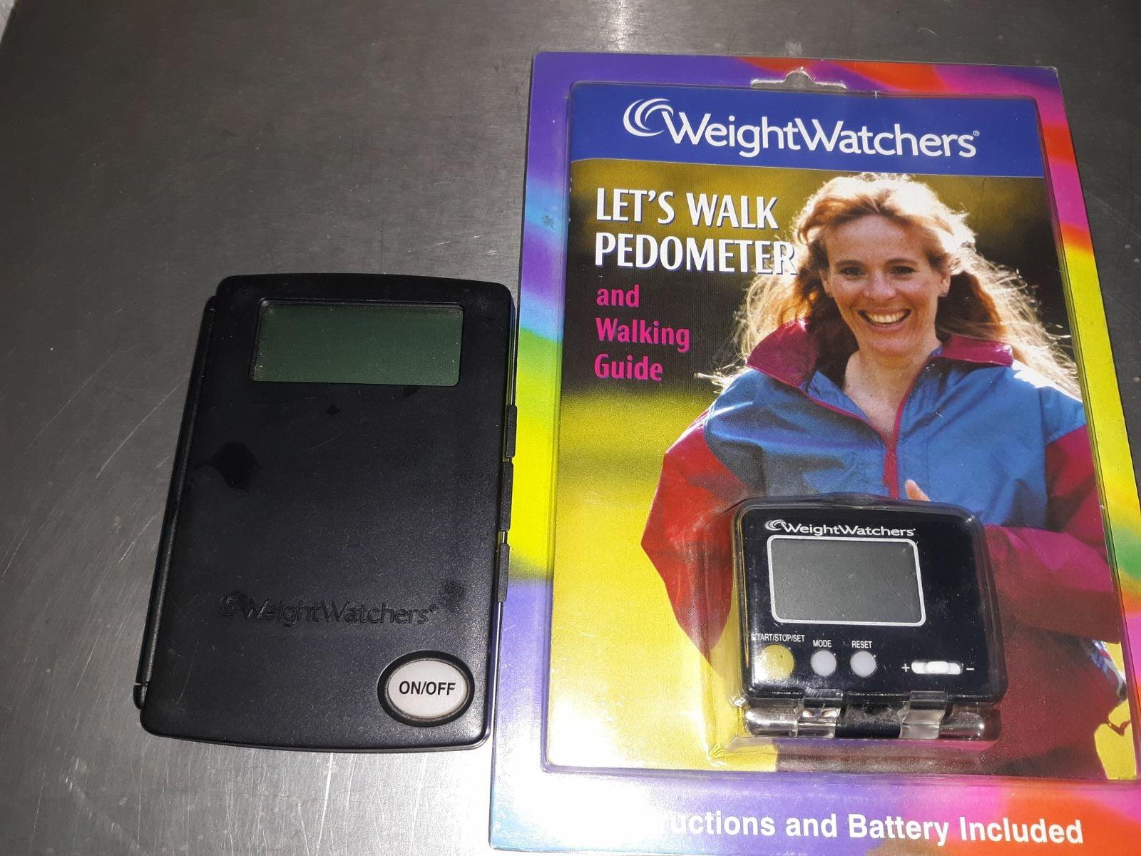 Weight Watchers Pedometer and Calculator
