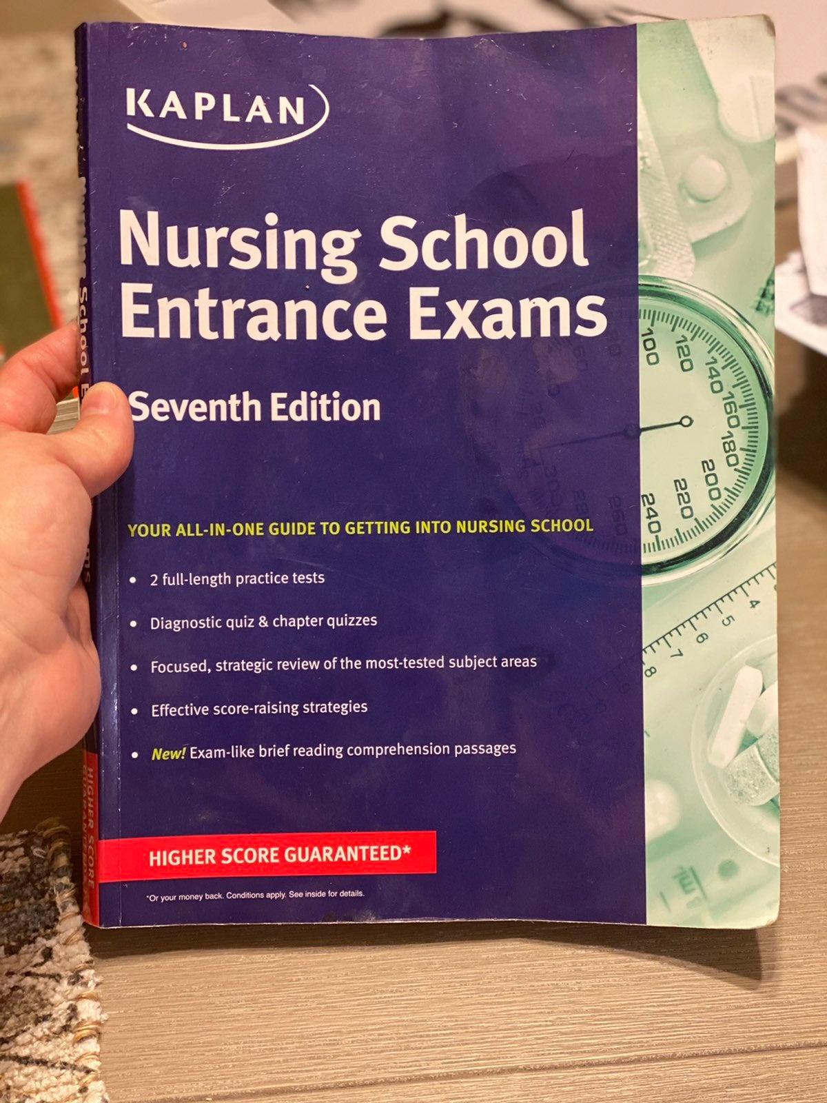 Kaplan nursing school entrance exam 7th