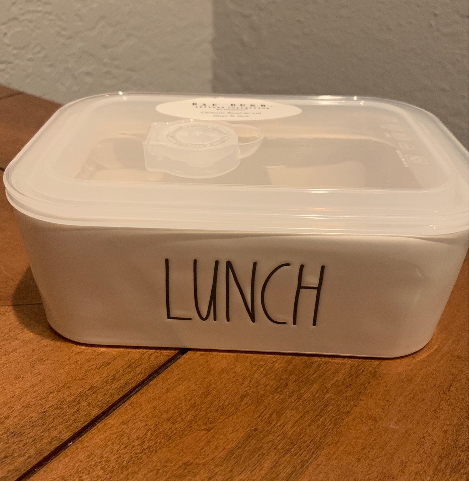 Rae Dunn Bowl Lunch Dish With Lid