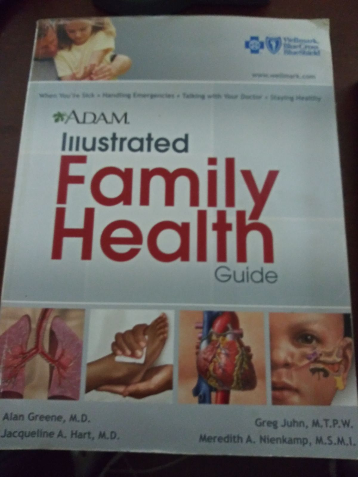 Illustrated family health guide