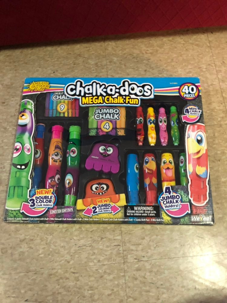 Chalk a Doos Mega Chalk Fun (40pc)