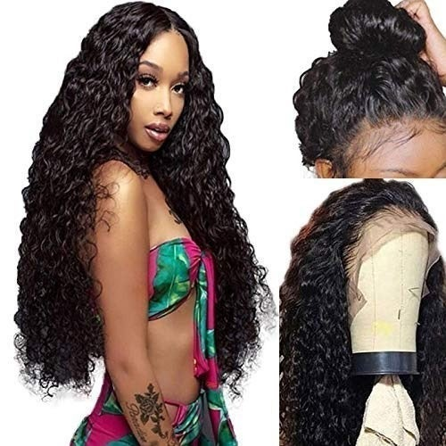 """Wet Look Wavy Lace Front w Baby Hair 22"""""""