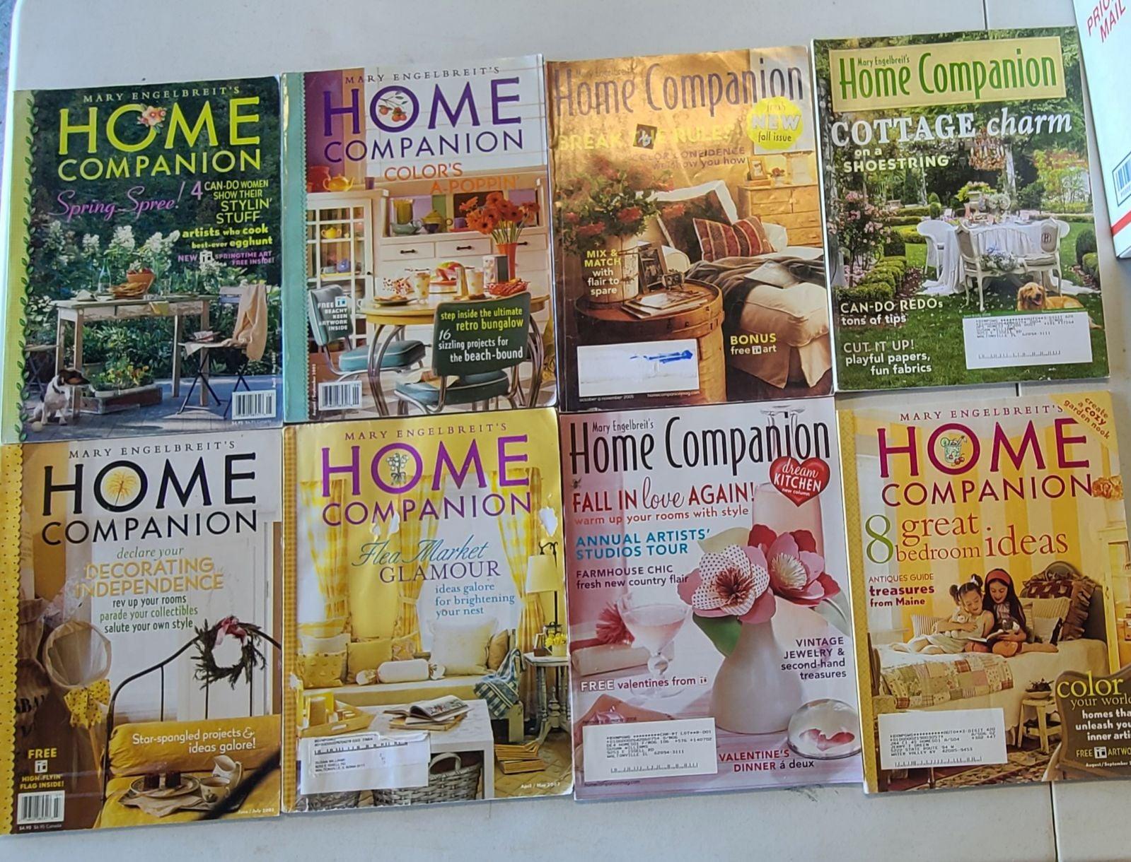 Lot of 8 Mary Engelbreit Magazines