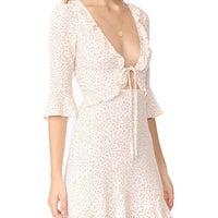 fdff5682 For Love And Lemons Star Print Dress