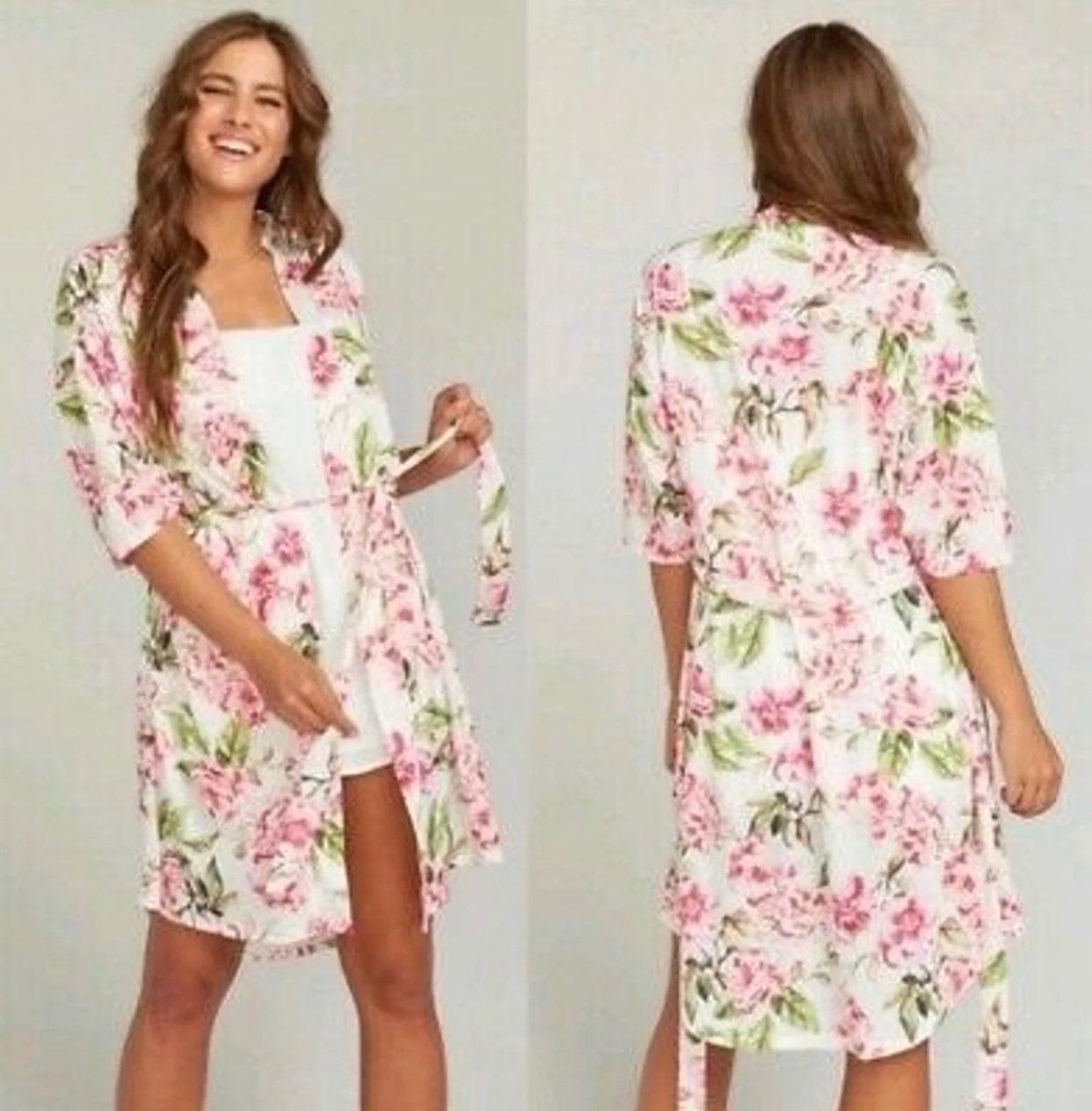 Show Me Mumu Floral Robe