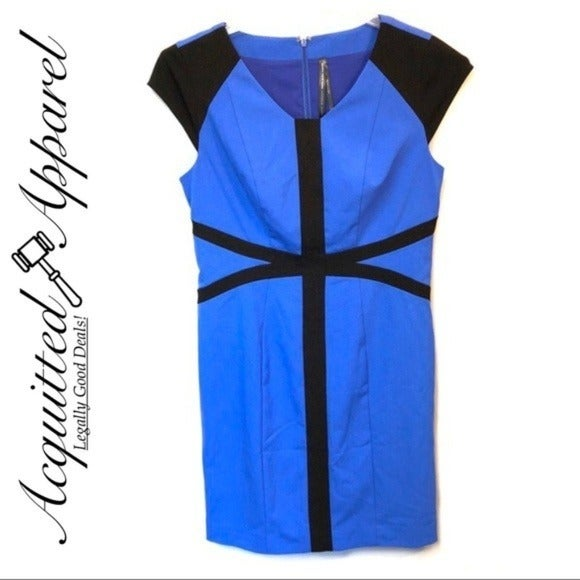 Andrew Marc New York Color Block Dress