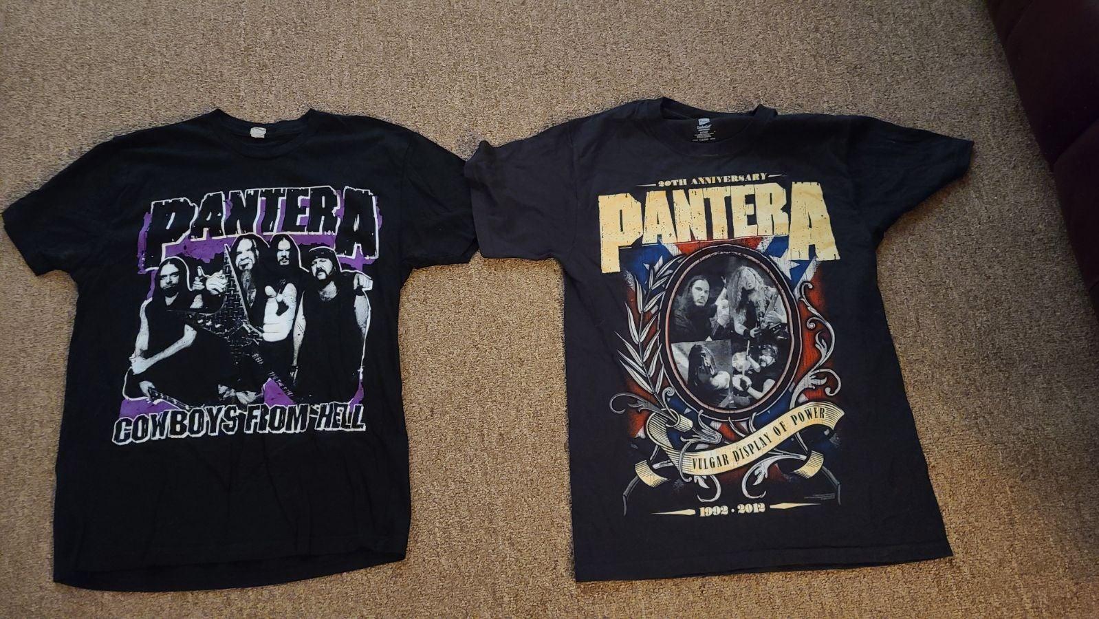 Pantera Band Tshirts Men Medium