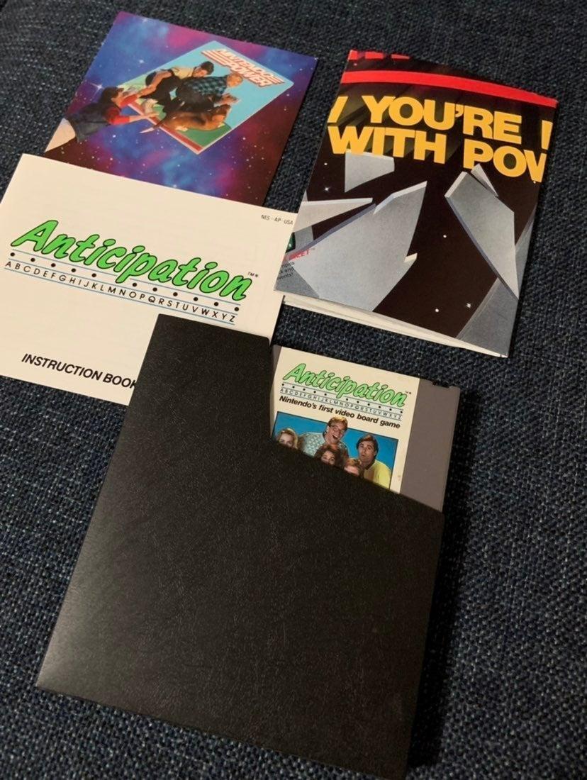 Anticipation Nintendo NES