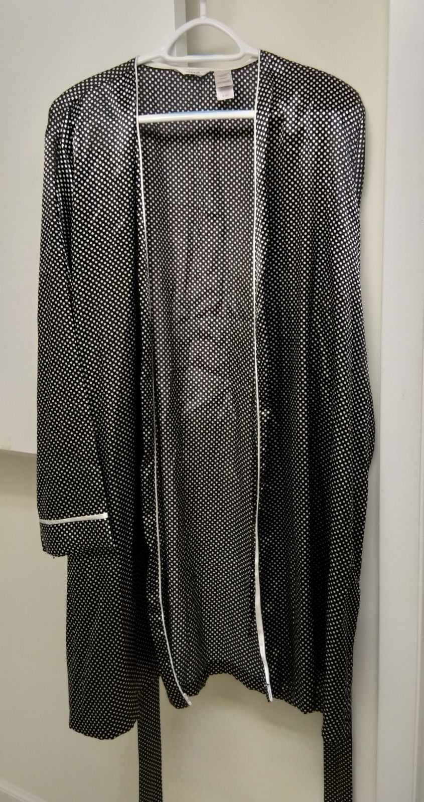 satin women's robe