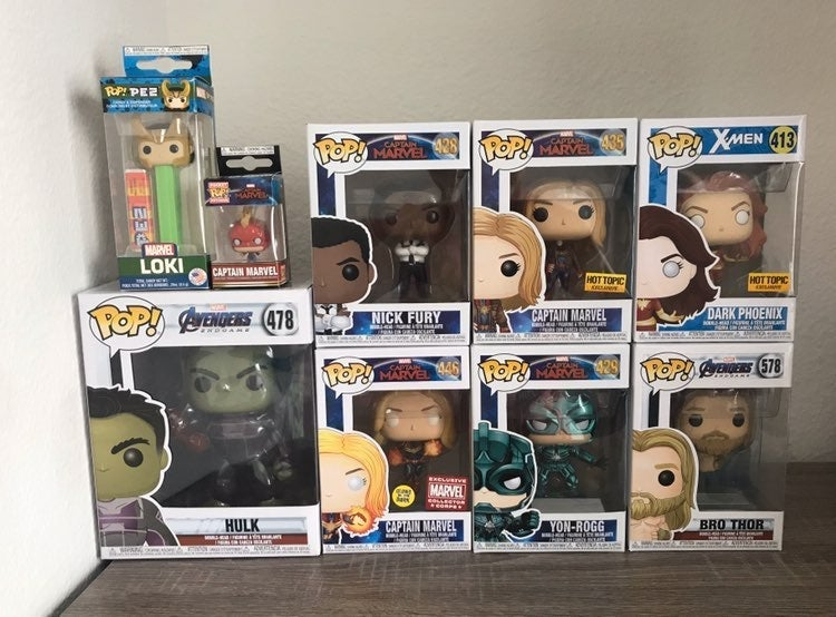 Funko Pop Marvel Lot