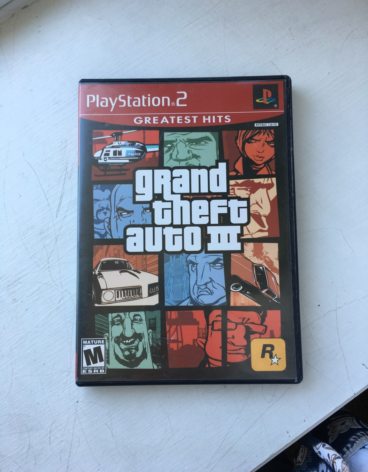 PS2 Grand Theft Auto 3 game