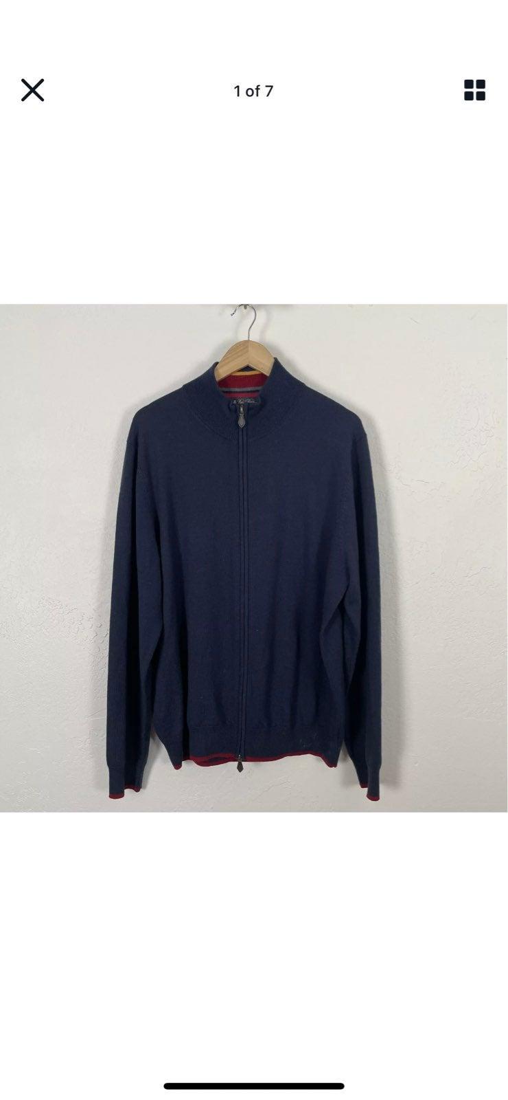 Brooks Brothers XL Zip up sweater jacket