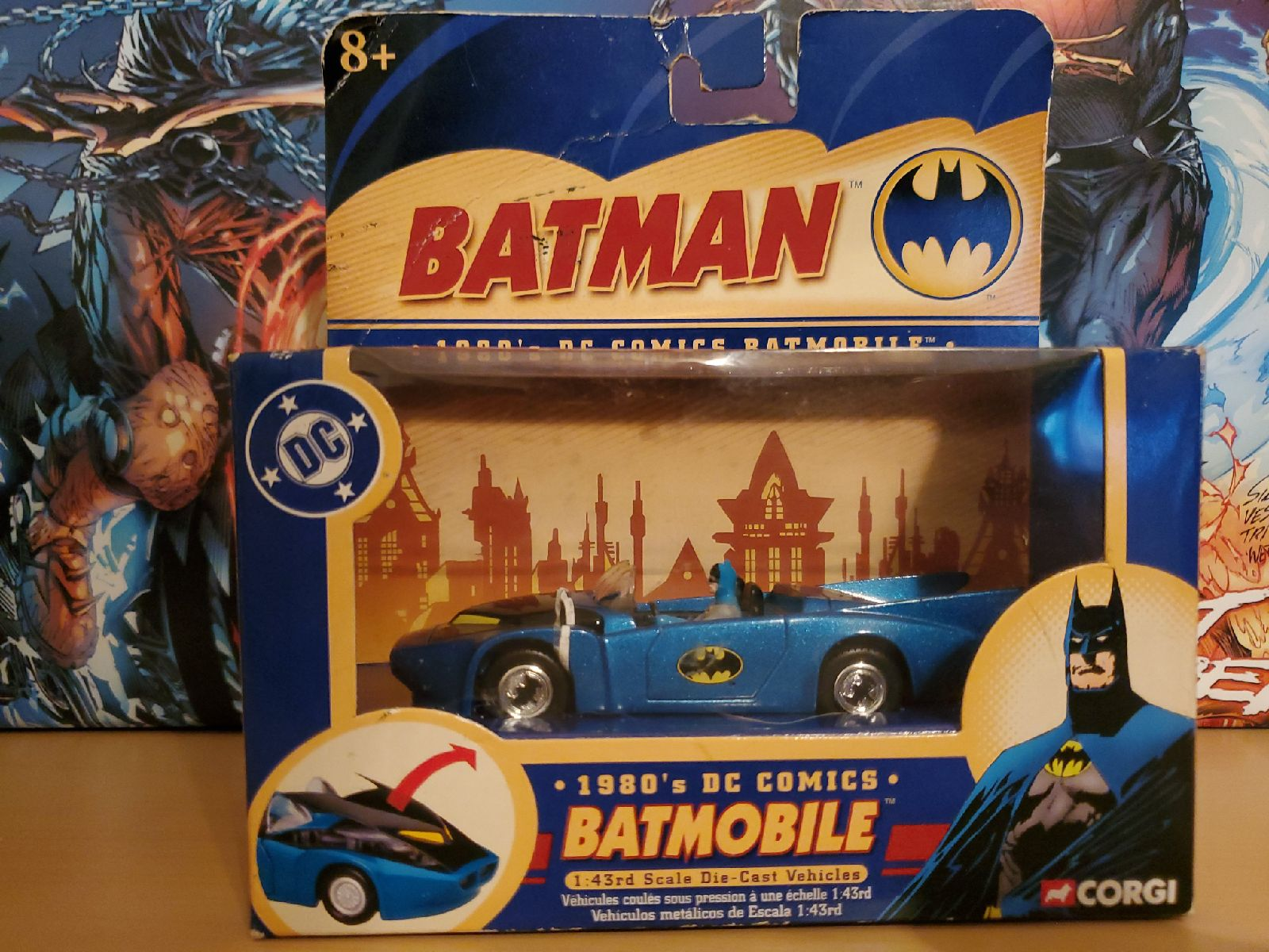 Corgi 1980s DC Comics Batmobile