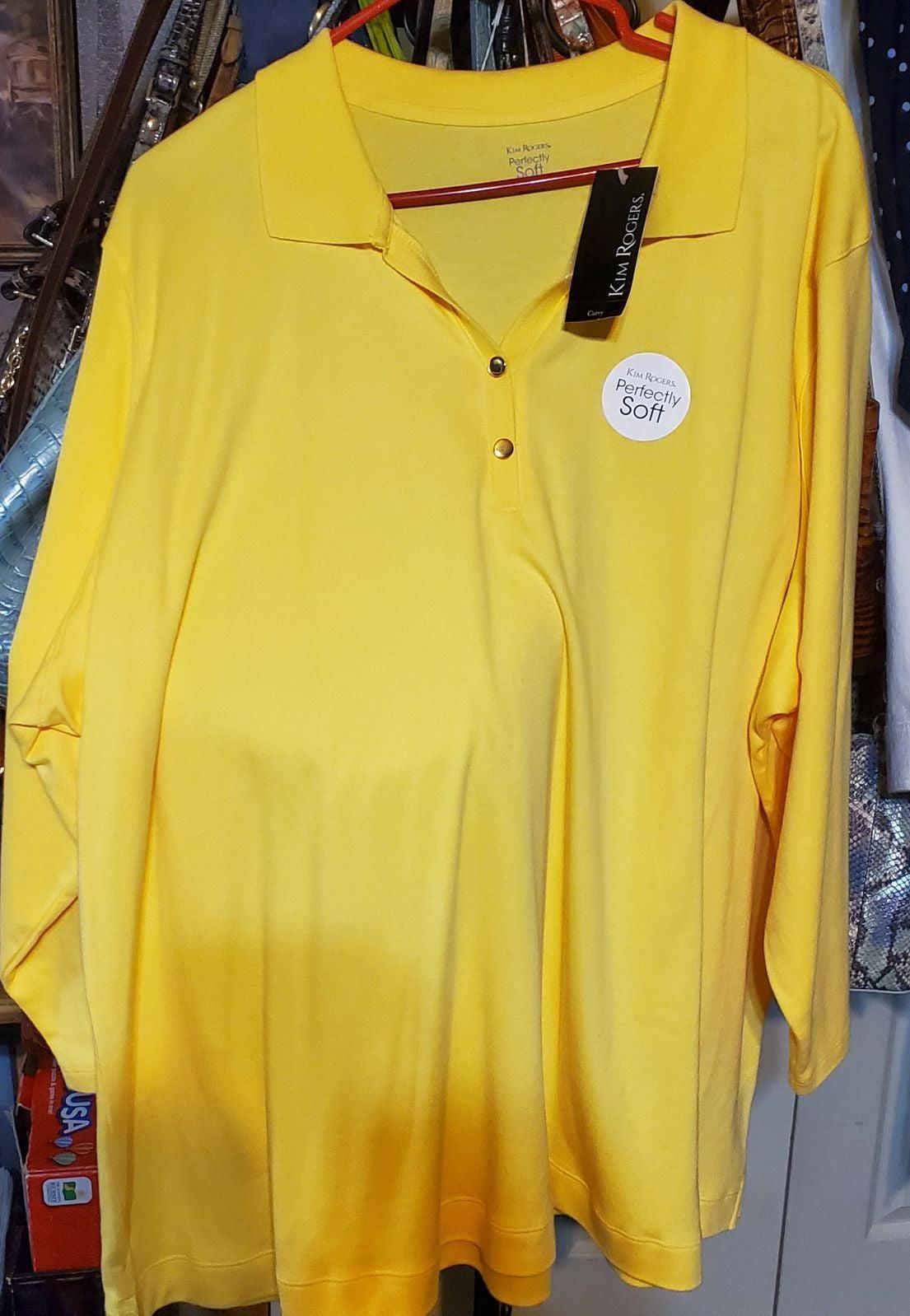 NWT Kim Rogers shirt