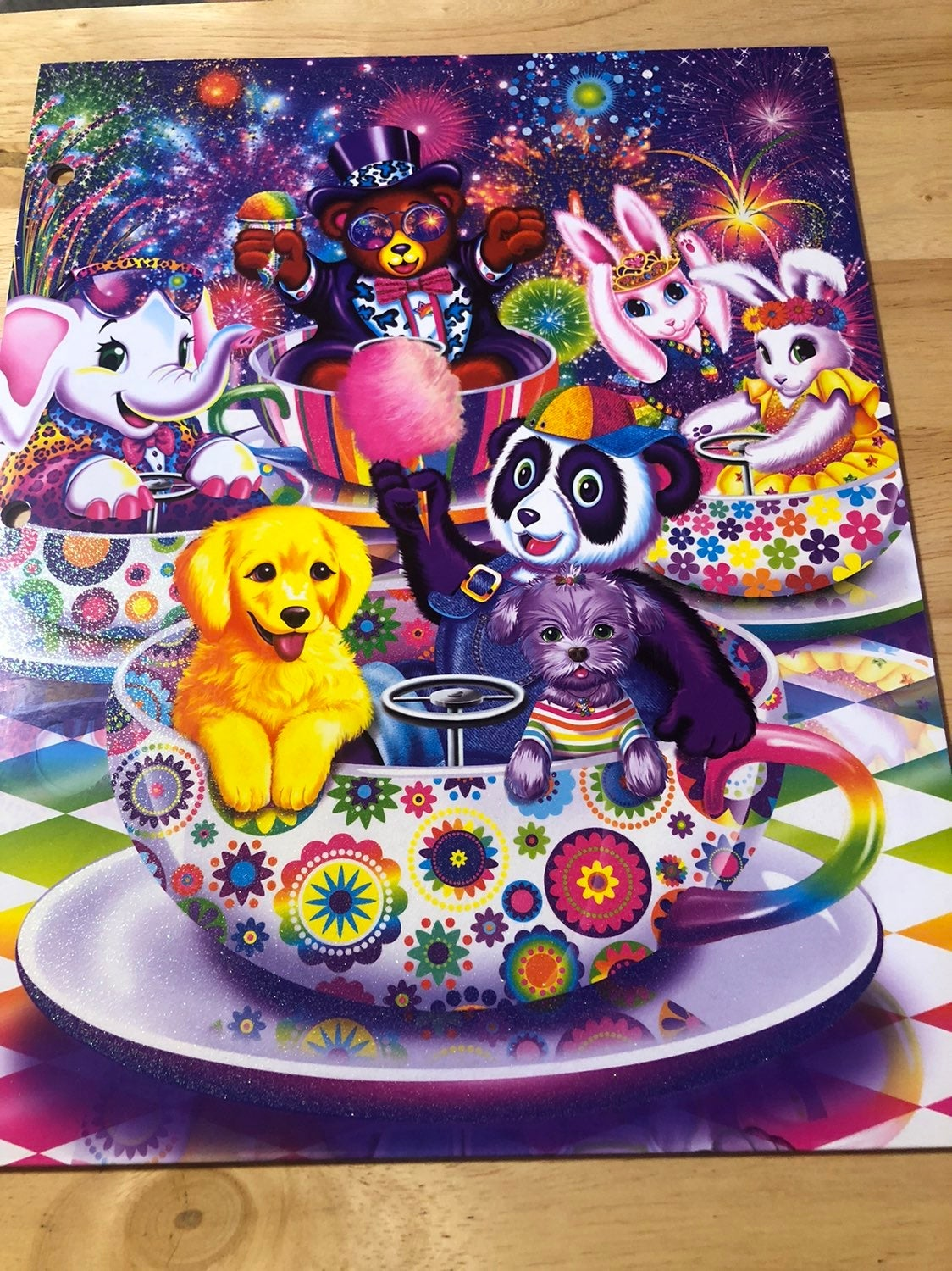 Lisa Frank All Star Celebration Folder