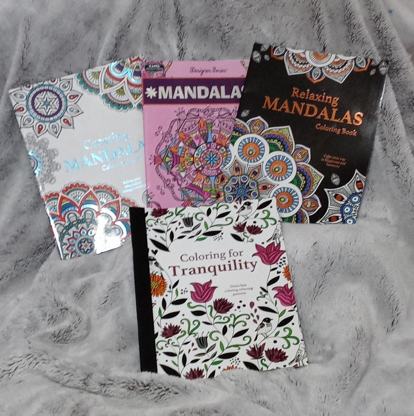Mandalas/Tranquility Adult Coloring