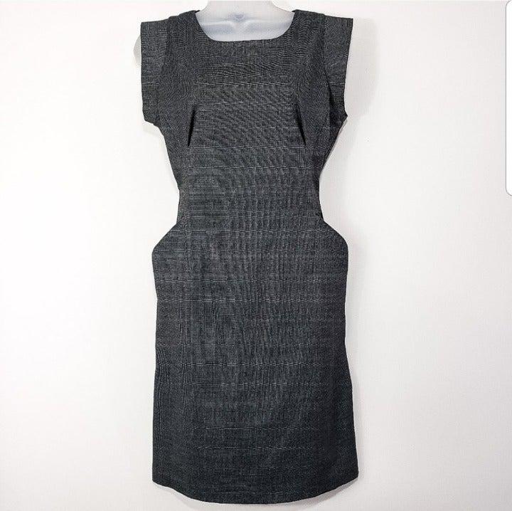 NAF NAF Cinched Waist Dress, Size M/38