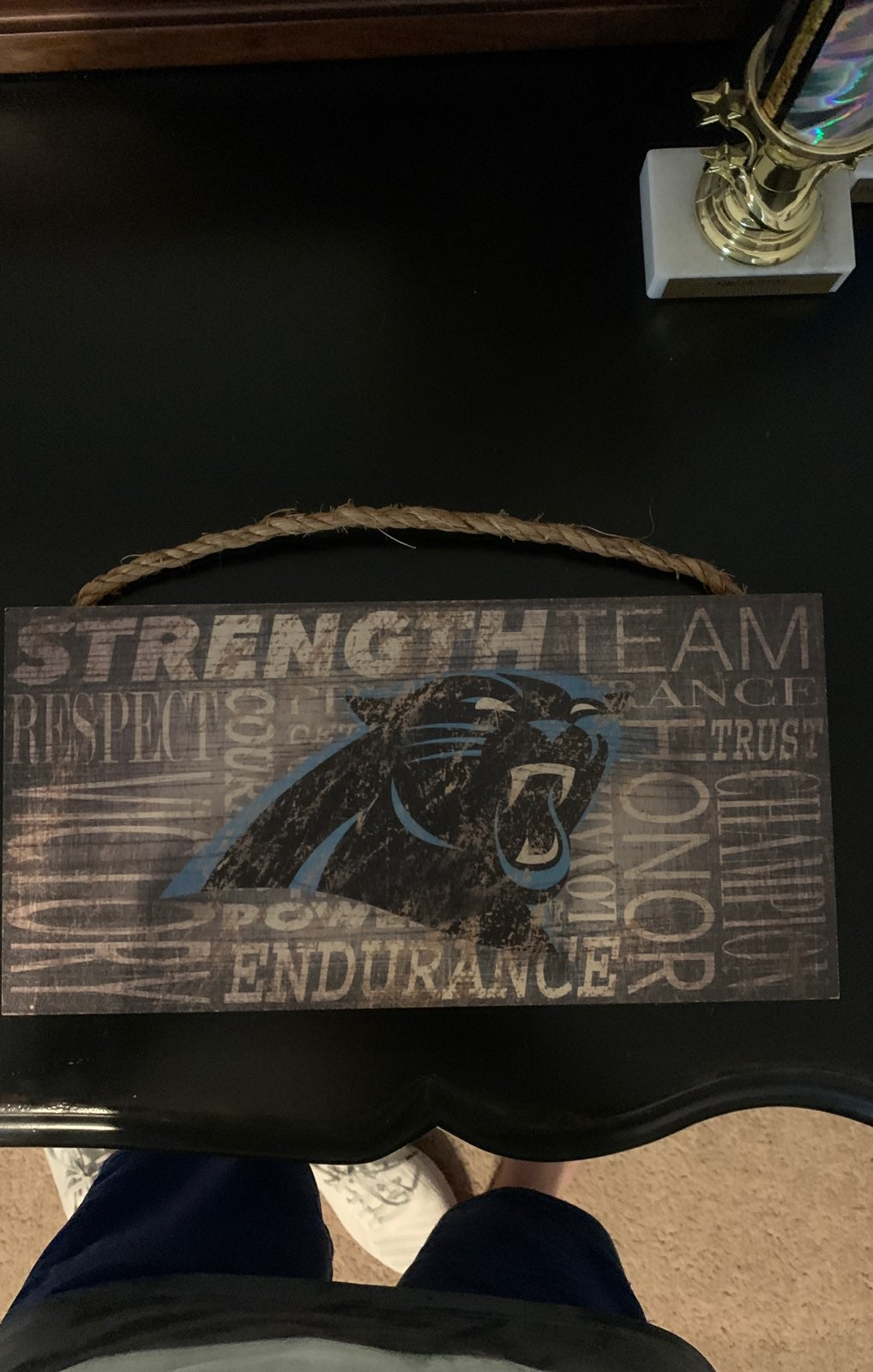 Panthers collage Wall art