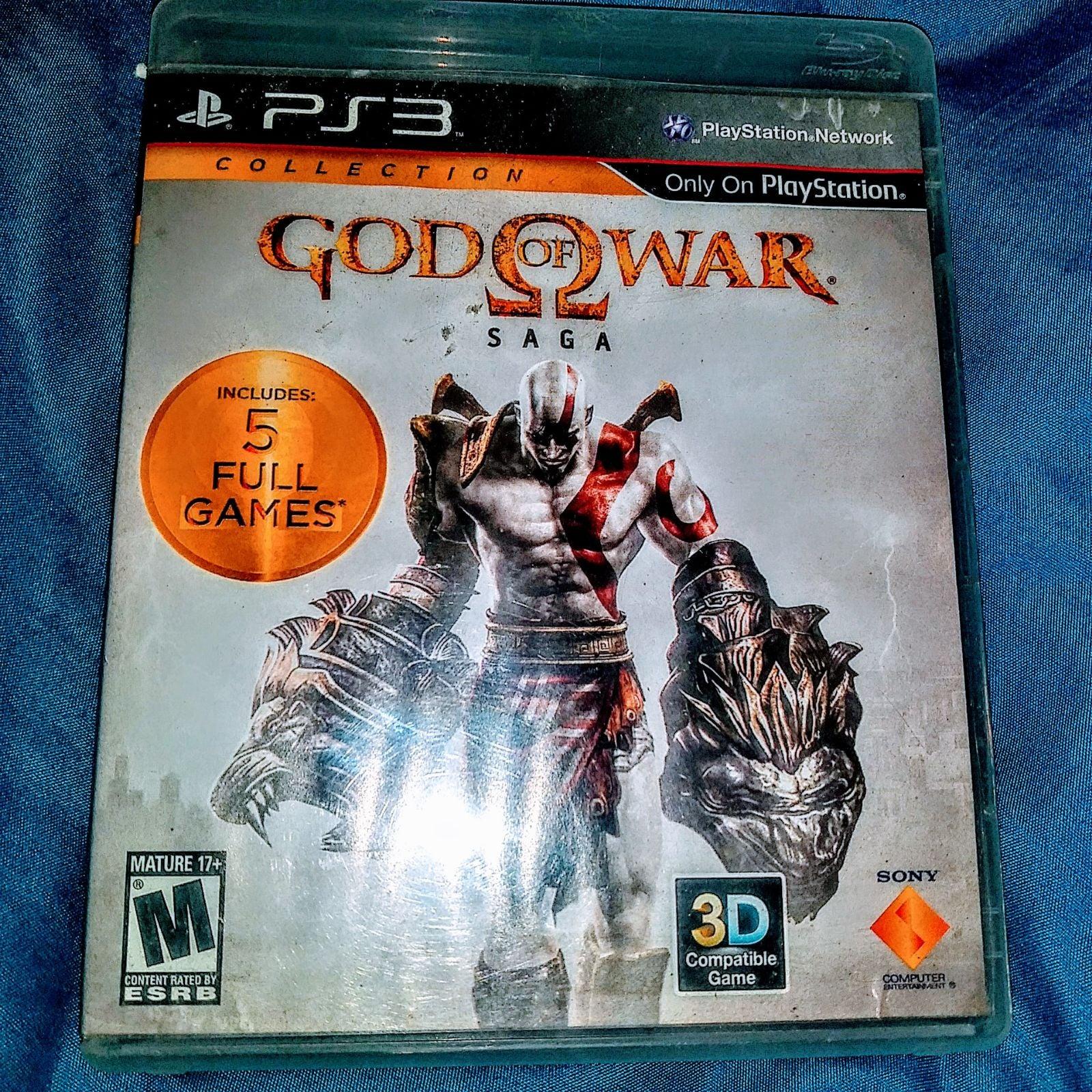 God Of War Saga For PS3
