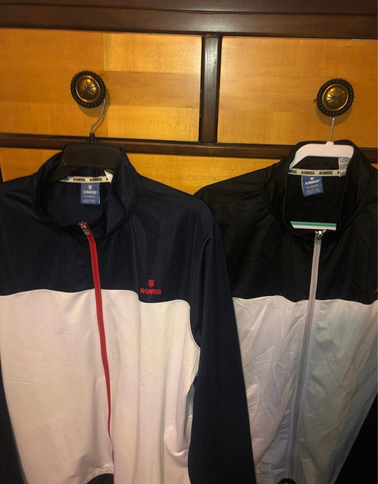 Three K Swiss Jackets