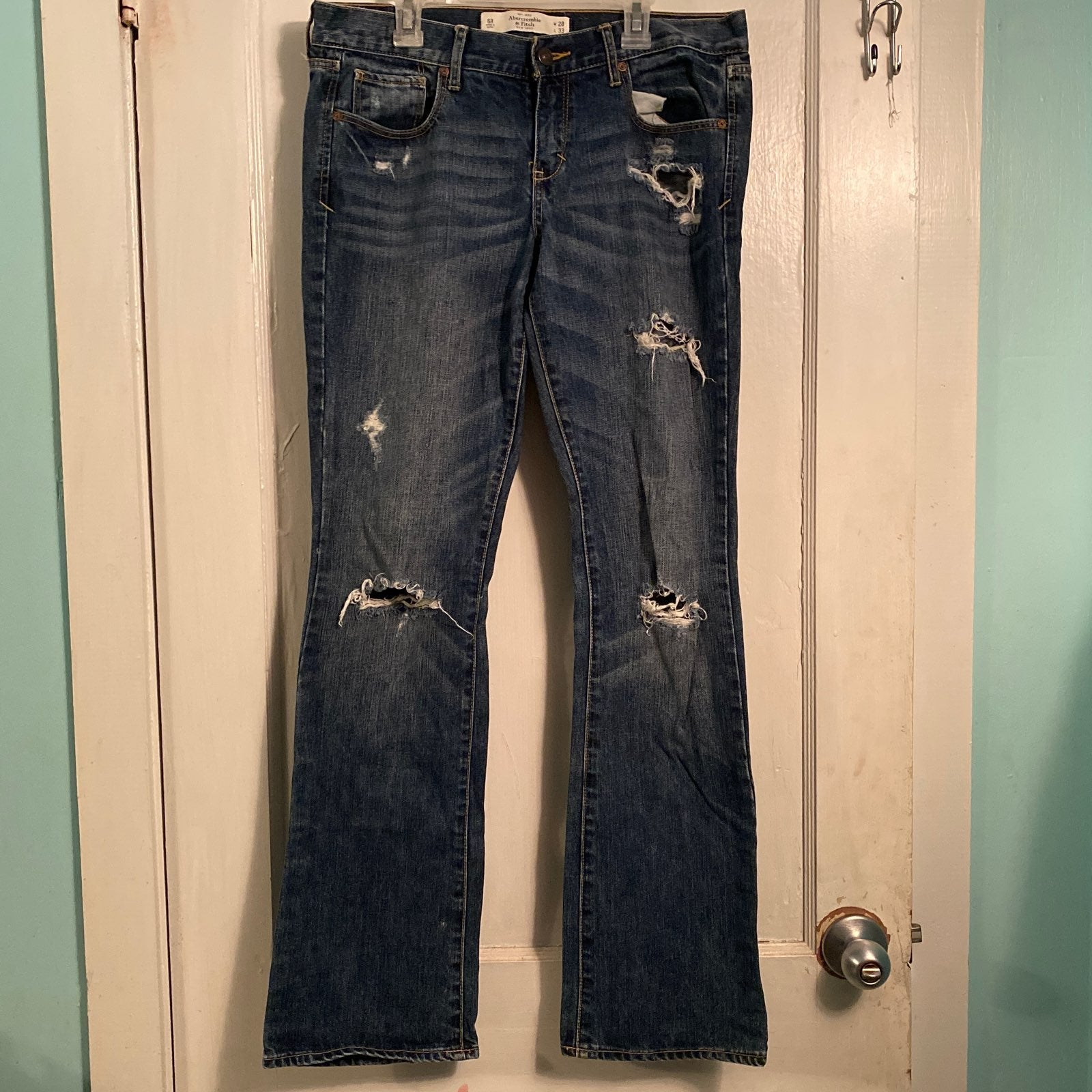 Abercrombie and Fitch jeans