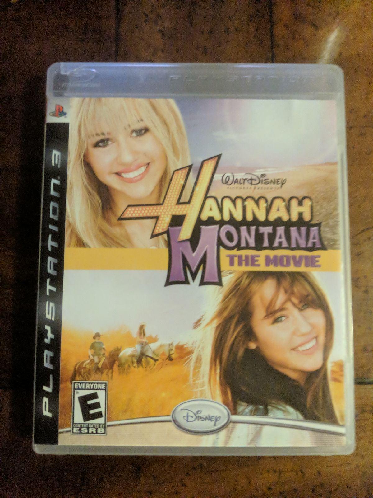 Hannah Montana: The Movie on Playstation