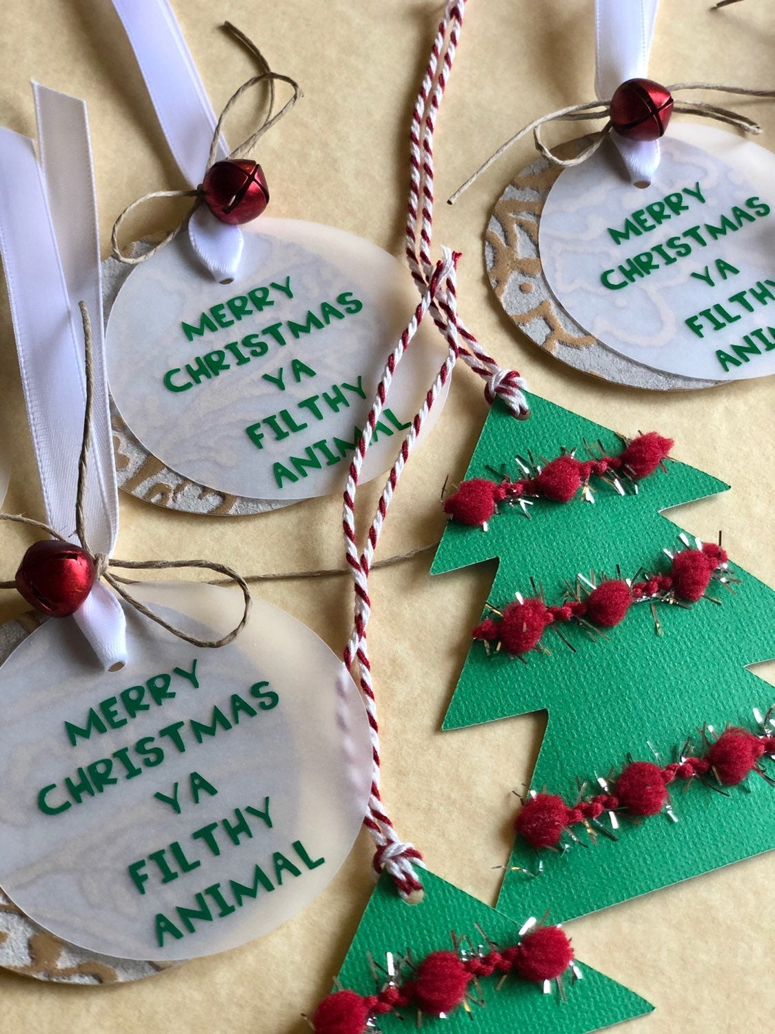 Gift Tags - Home Alone Themed