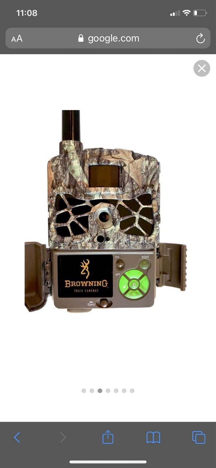 20MP Browning defender Wireless trailcam