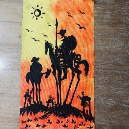 Don Quijote - Hand Painted from Spain