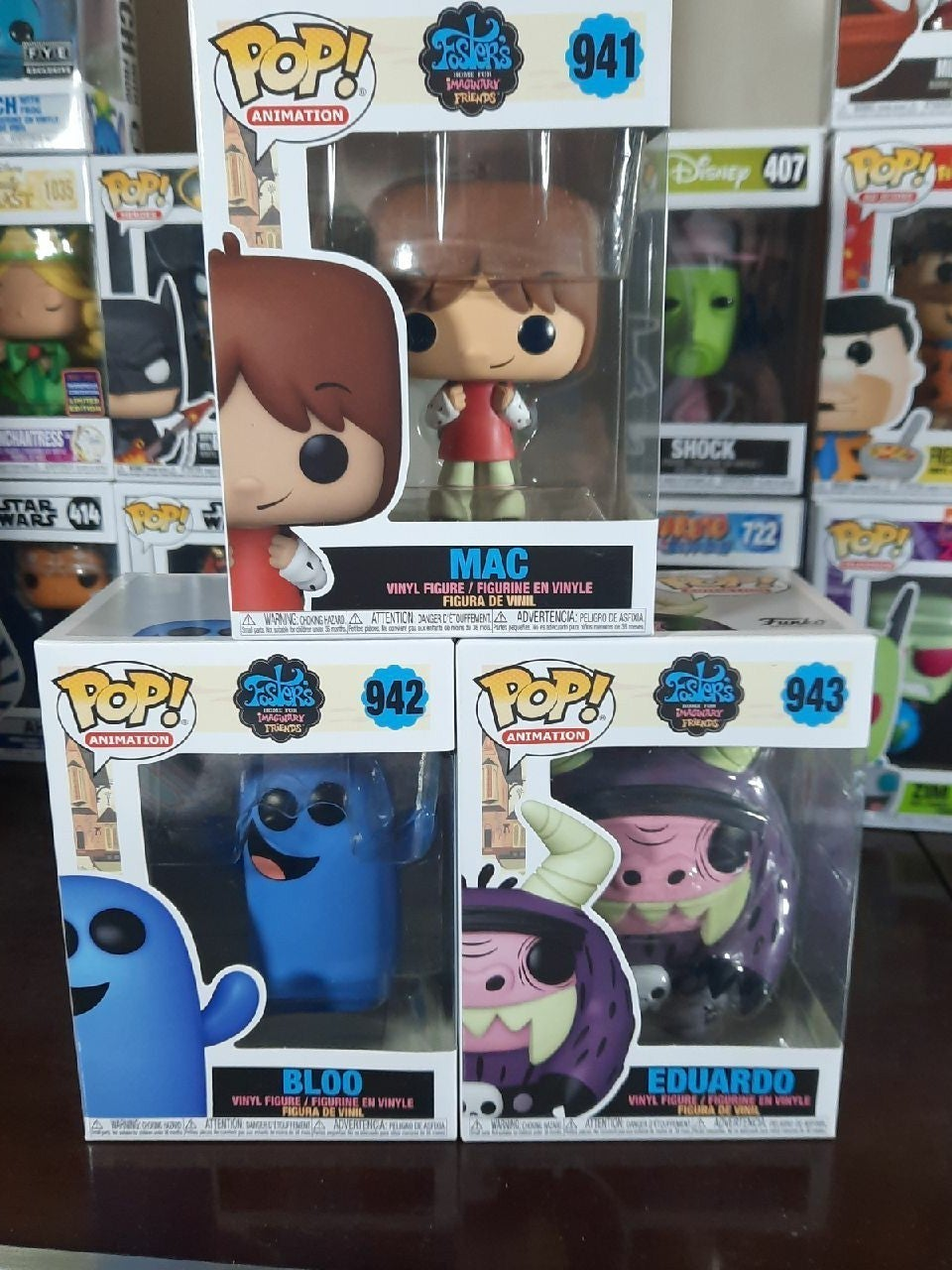 Fosters home for imaginary friends funko