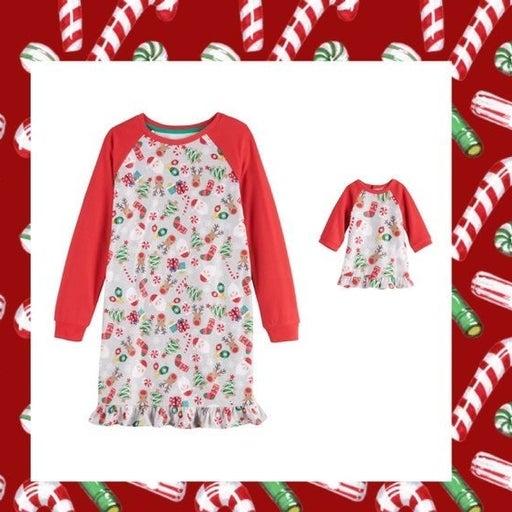 New Holiday pajamas & doll pajamas 7/8