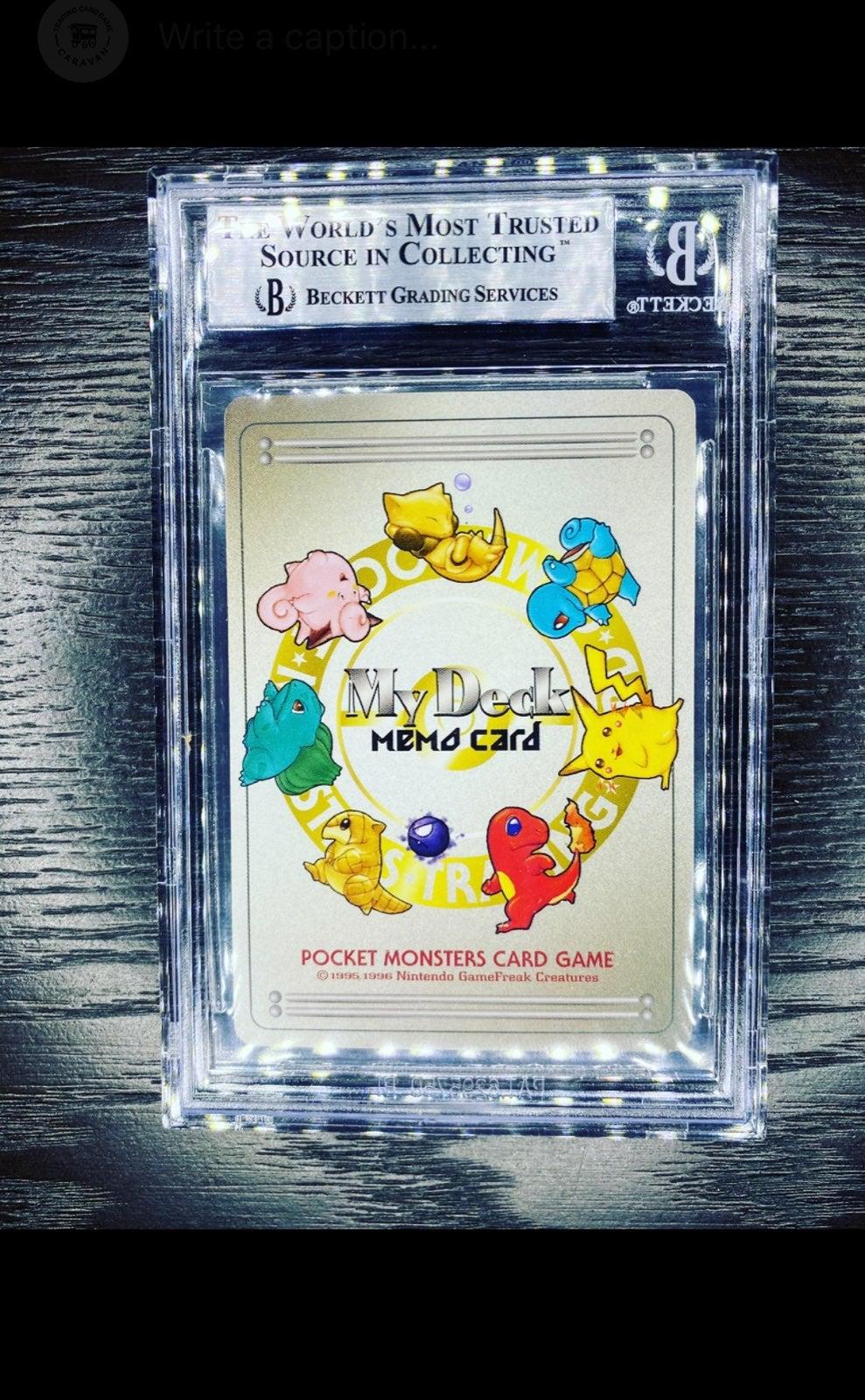 Japanese My Deck Memo Card BGS 8.5