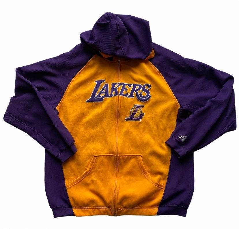 '00's Adidas Lakers Hoodie L