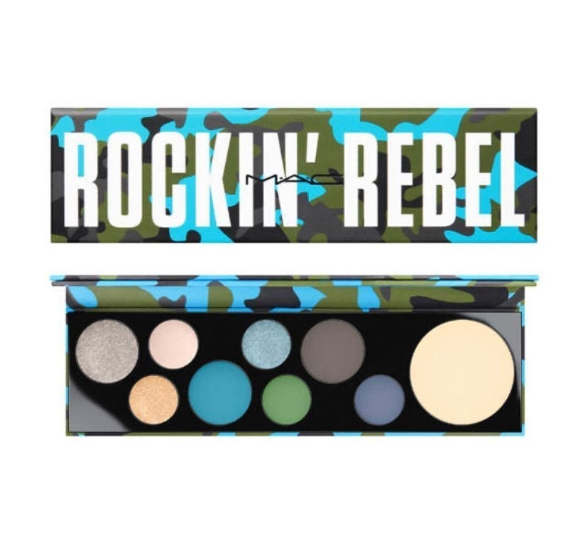 Mac-Rockin Real Eyeshadow Palette LTd