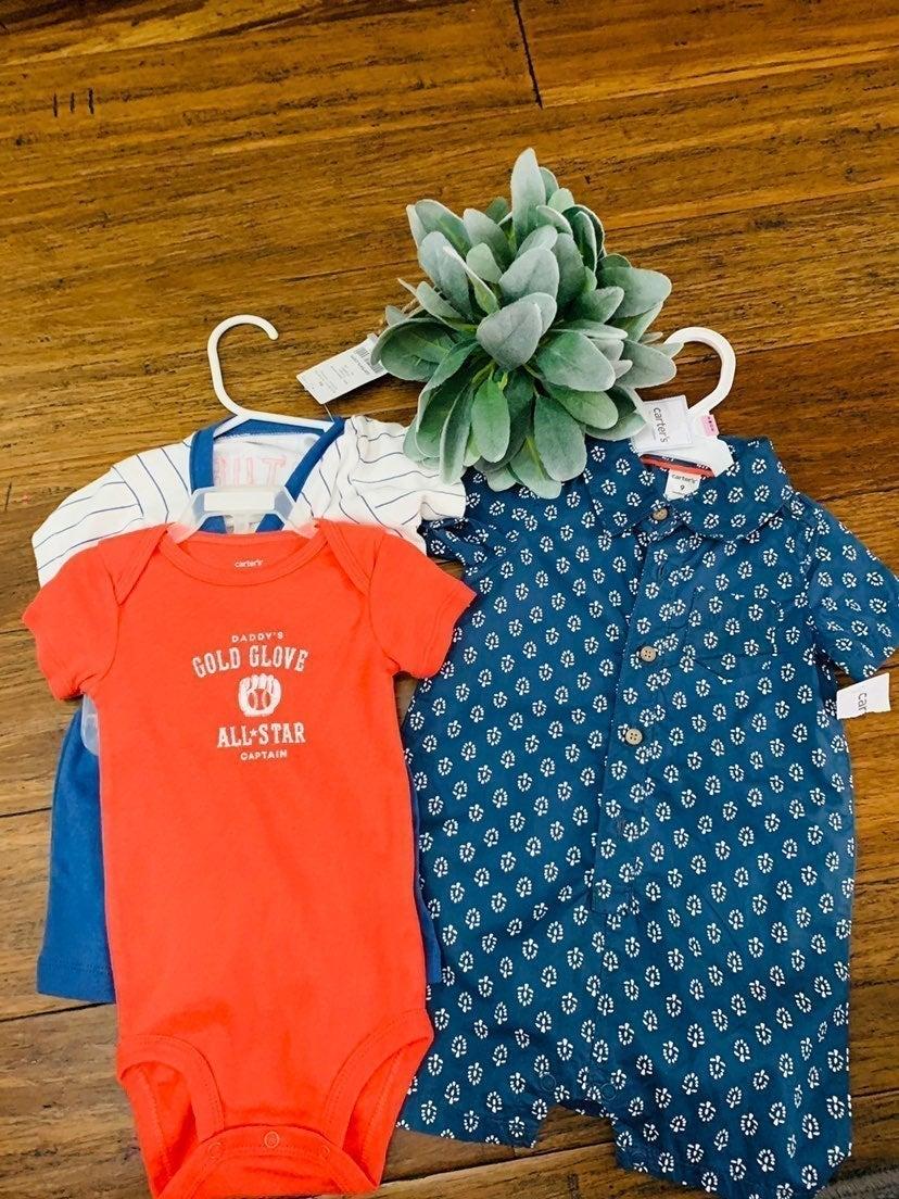 Baby boy 9 months clothes bundle