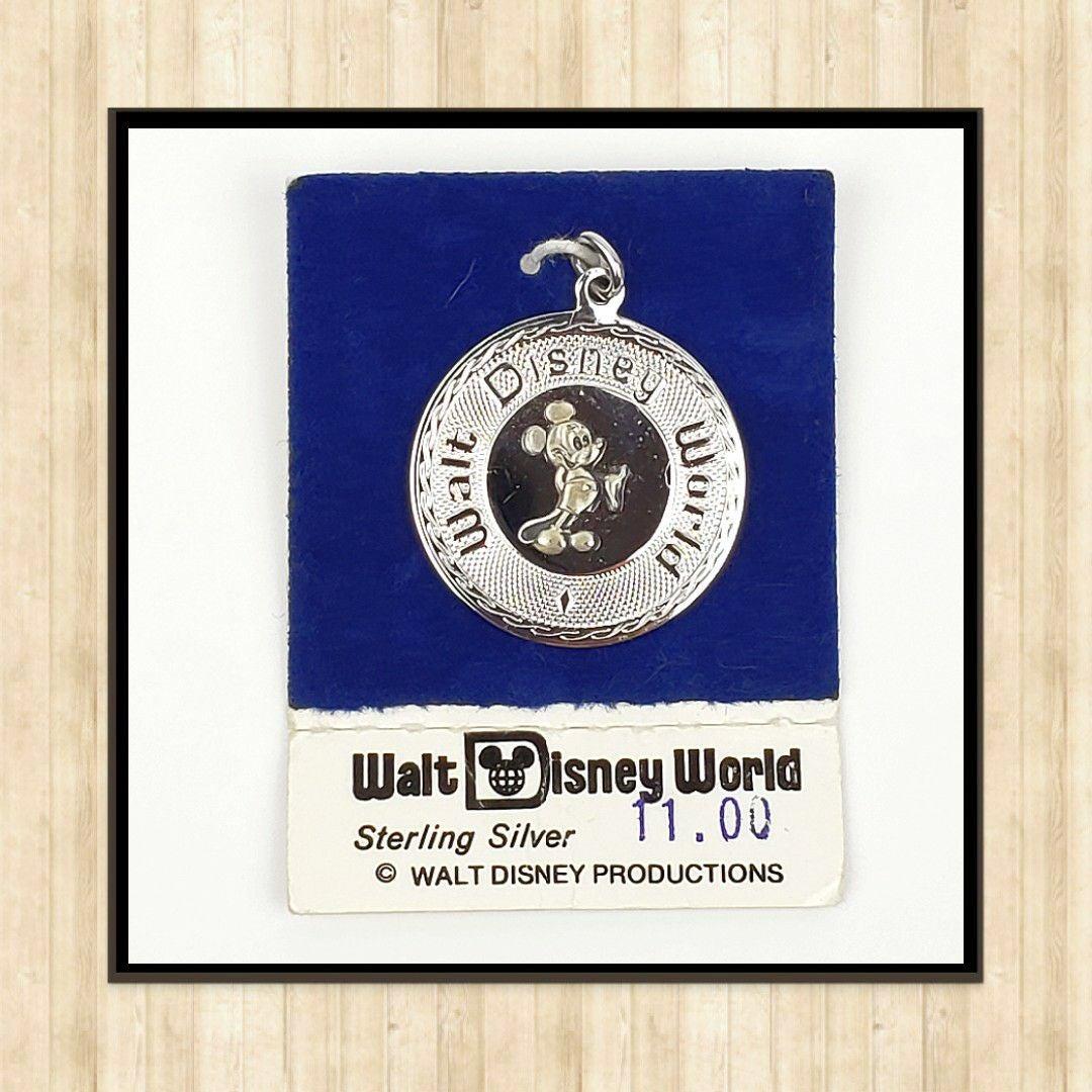 Vintage Walt Disney World Sterling Silve