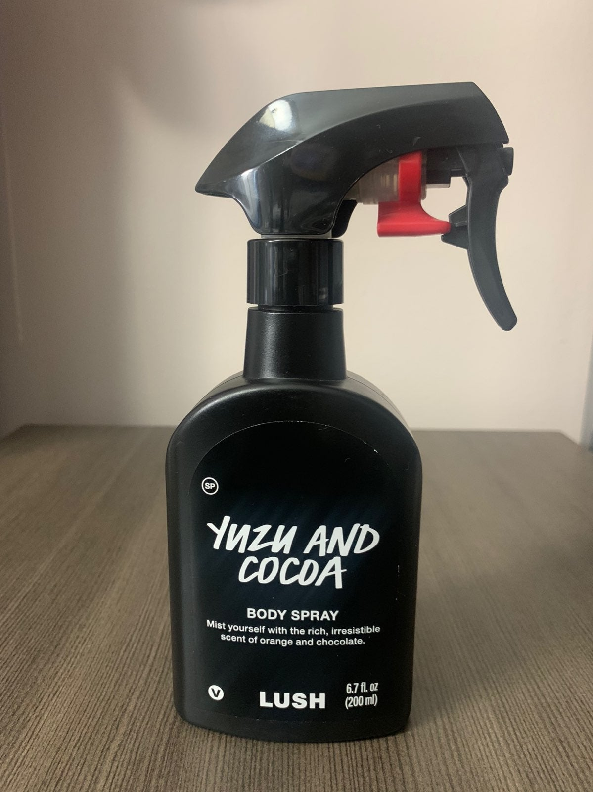 Lush Yuzu and Cocoa Body Spray