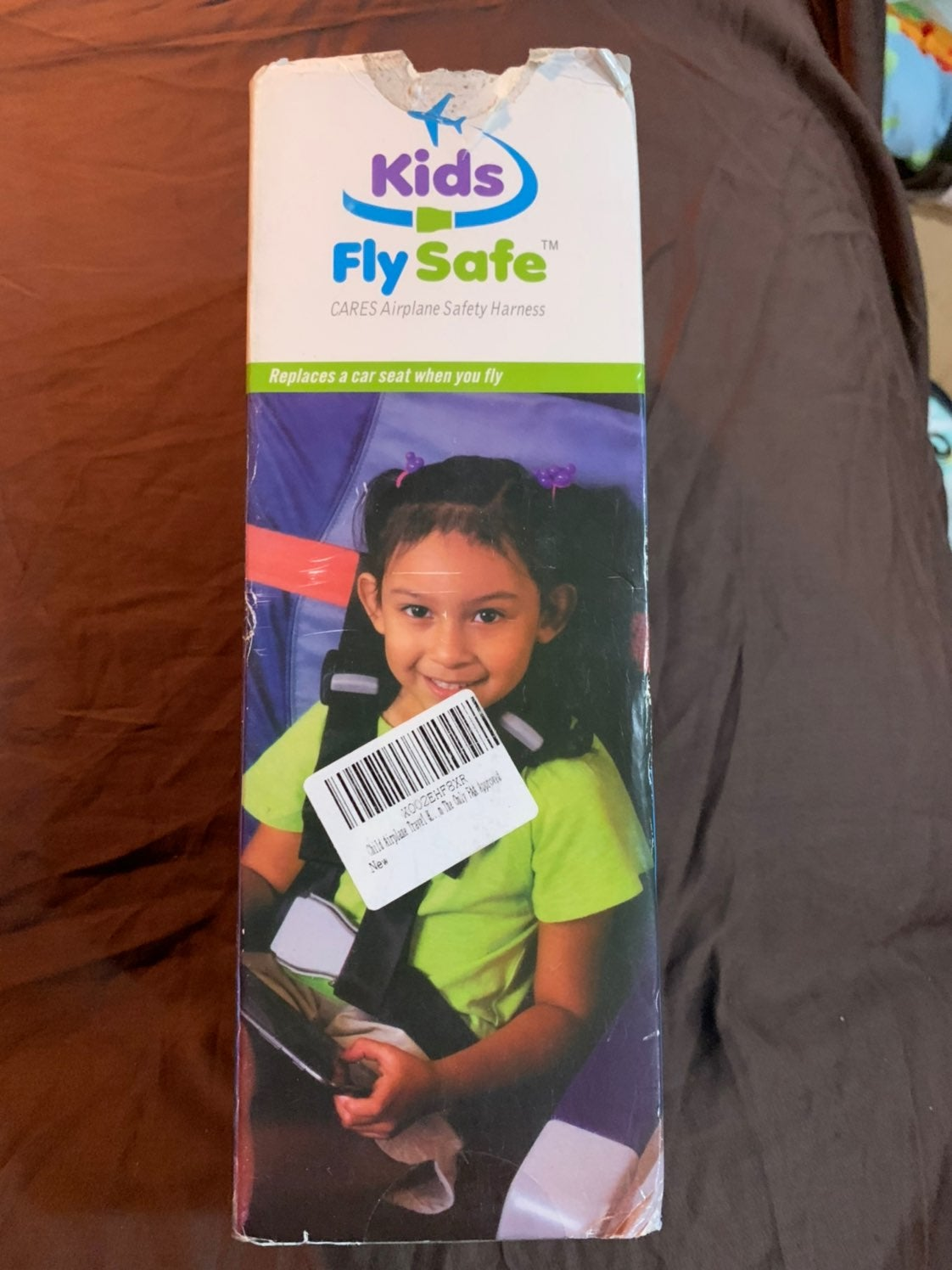 NIB Kids Fly Safe Plane Safety Harness
