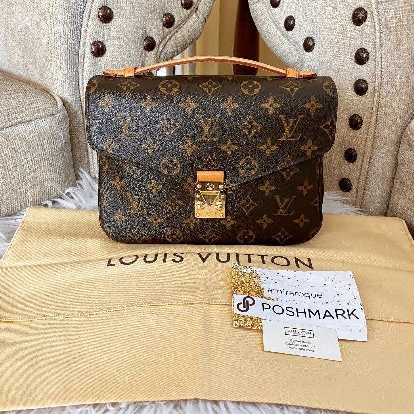 Auth Louis Vuitton Pochette Metis