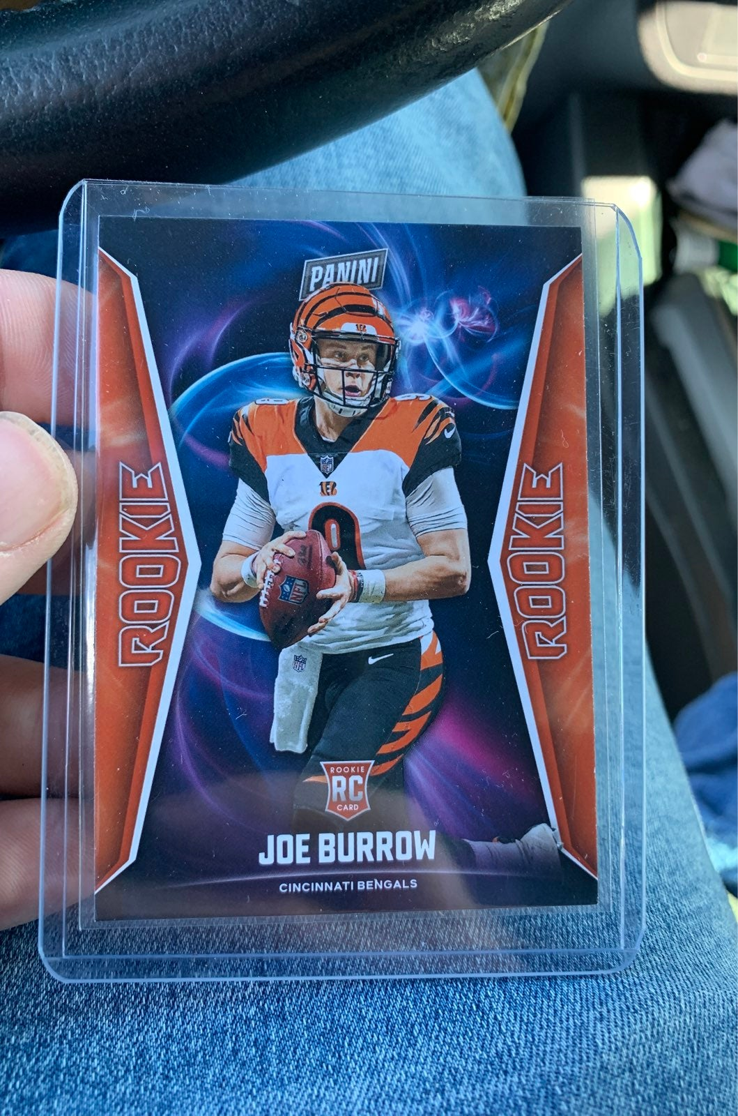 Joe Burrow Panini Rookie