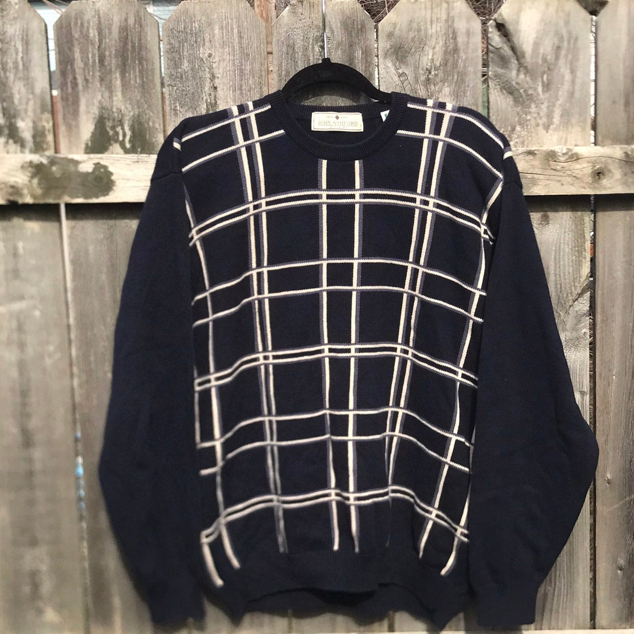 Vintage John Ashford Golf Sweater L/G