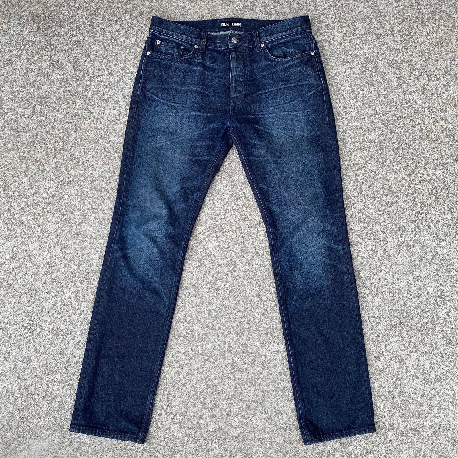 Blk Dnm Jeans 15 Alpha Blue Denim