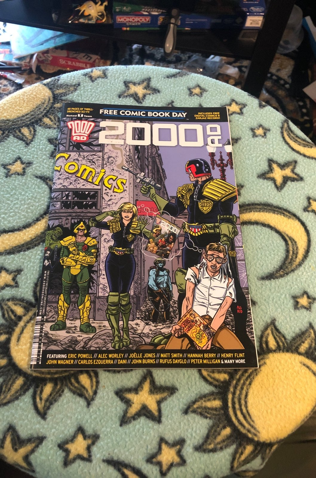 2000 AD Free Comic Book Day Issue