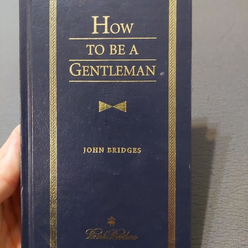 How to be a gentleman book Brooks Brothe