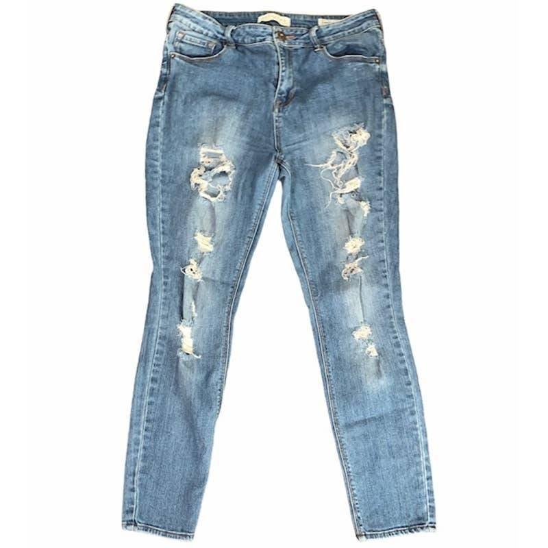 BULLHEAD Denim Co. High Rise Skinny Jean