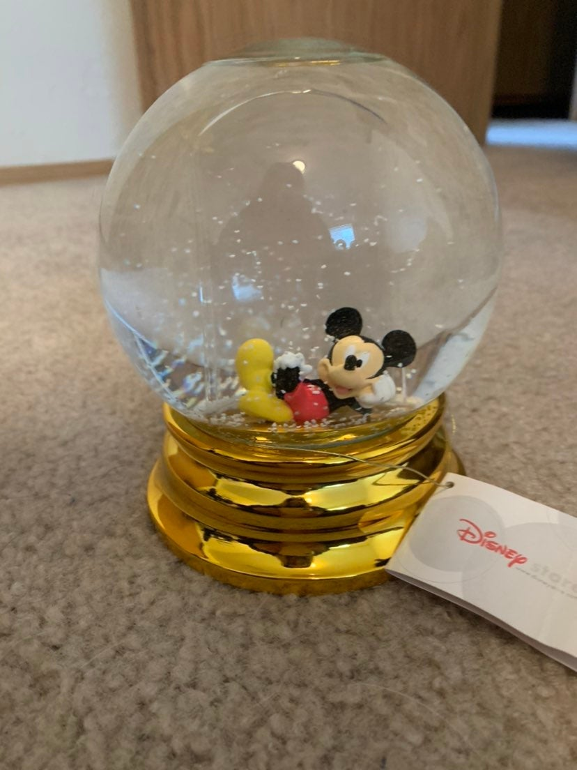 Mickey Mouse Photo Snowglobe