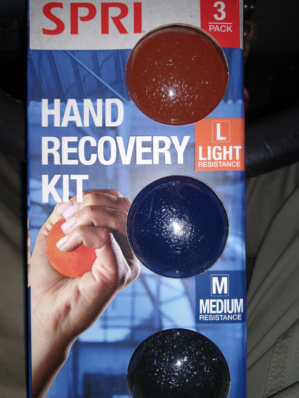 Hand recovery kit