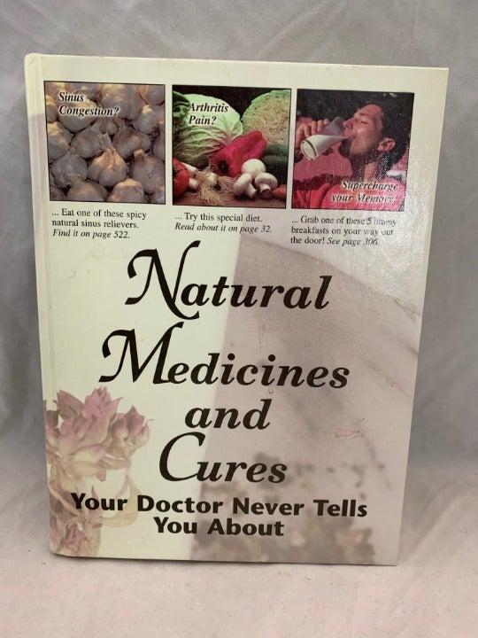 Natural Medicines & Cures Book - 1996