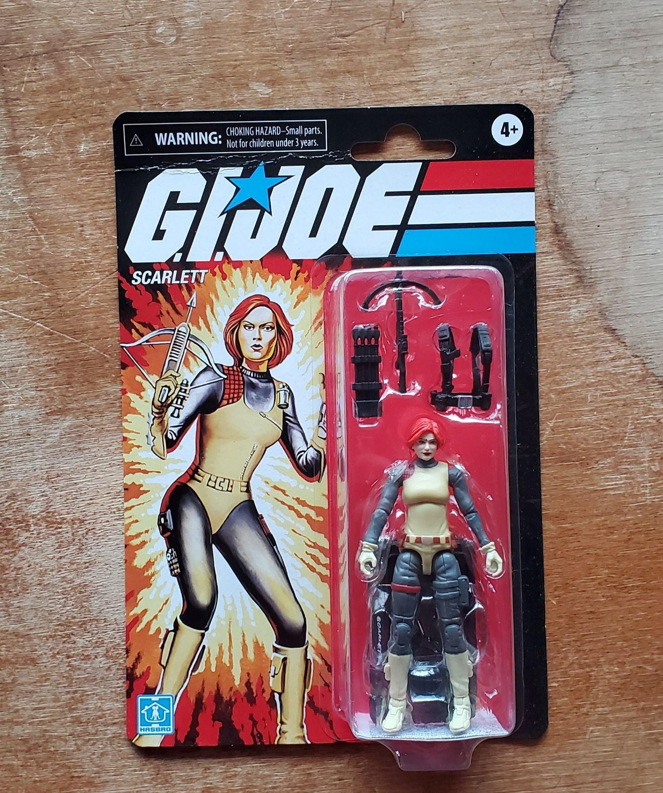 G.I Joe Retro Collection Scarlett